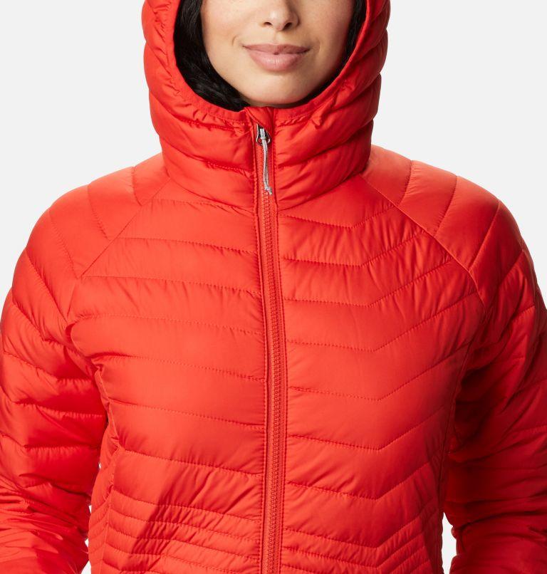 Powder Lite™ Mid Jacket   843   S Women's Powder Lite™ Mid Jacket, Bold Orange, a2