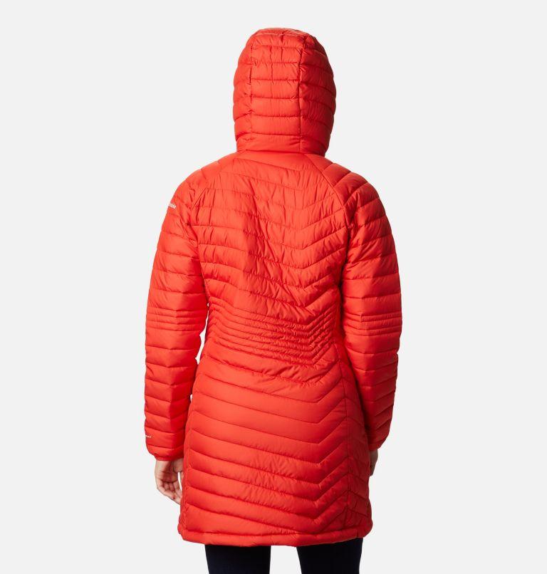 Powder Lite™ Mid Jacket   843   S Women's Powder Lite™ Mid Jacket, Bold Orange, back