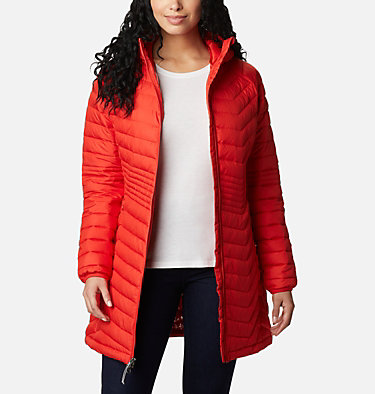 Women's Powder Lite™ Mid Jacket Powder Lite™ Mid Jacket | 370 | XS, Bold Orange, front
