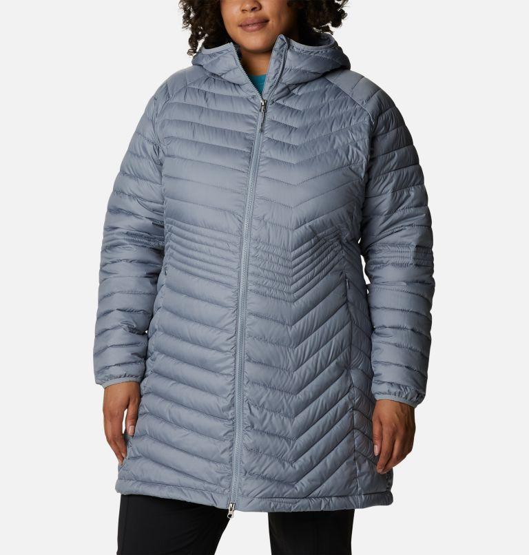 Women's Powder Lite Mid Jacket - Plus Size Women's Powder Lite Mid Jacket - Plus Size, front