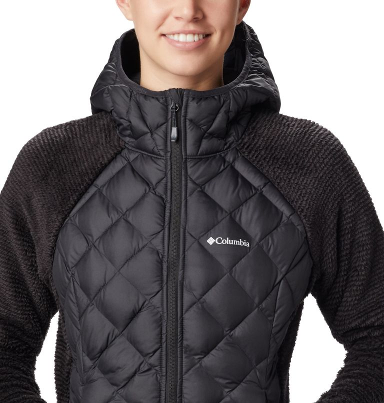 Techy Hybrid™ Fleece | 010 | XS Women's Techy Hybrid™ Fleece, Black, a1