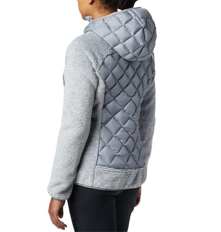 Techy Hybrid™ Fleece | 032 | XL Pile Techy Hybrid™ da donna, Tradewinds Grey, White Stripe, a3