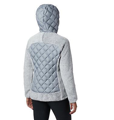 Veste Polaire Techy Hybrid™ Femme Techy Hybrid™ Fleece | 602 | L, Tradewinds Grey, White Stripe, back