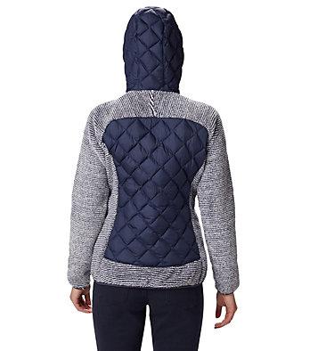 Veste Polaire Techy Hybrid™ Femme Techy Hybrid™ Fleece | 602 | L, Nocturnal, White Stripe, back