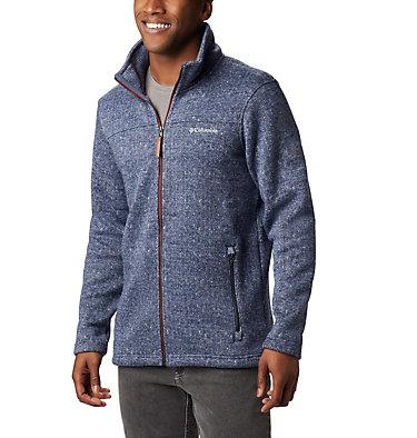 Boubioz™ Full-Zip Fleece für Herren Boubioz™ Fleece | 053 | XXL, Dark Mountain, Red Jasper, front