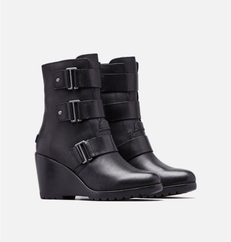 Women's After Hours™ Leather Bootie Women's After Hours™ Leather Bootie, 3/4 front