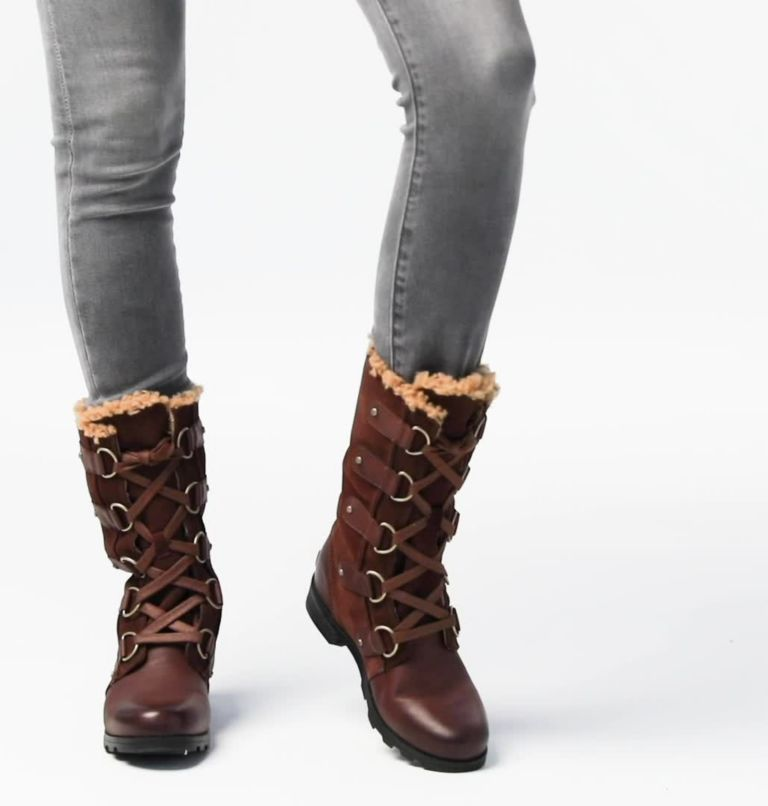 EMELIE™ LACE | 256 | 7 Women's Emelie™ Lace Boot, Tobacco, video