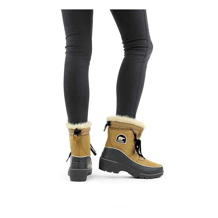 9 M US Tobacco//Flax SOREL Womens Tivoli III Snow Boot