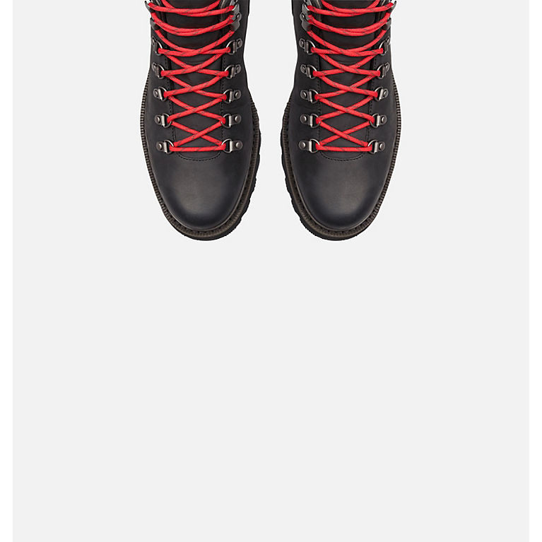 HOESCZS Boots Martin Autumn New Straps Snow Boots Womens Lace Short Boots Casual High-Top Flat Fashion Womens Shoes