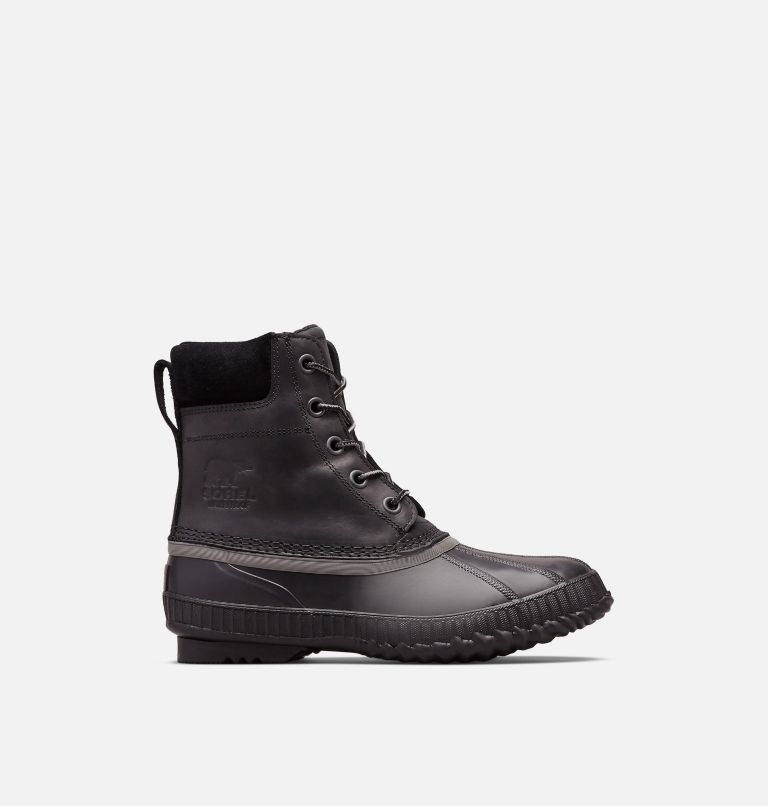 CHEYANNE™ II | 010 | 11 Mens Cheyanne II Lace Duck Boot, Black, Black, front