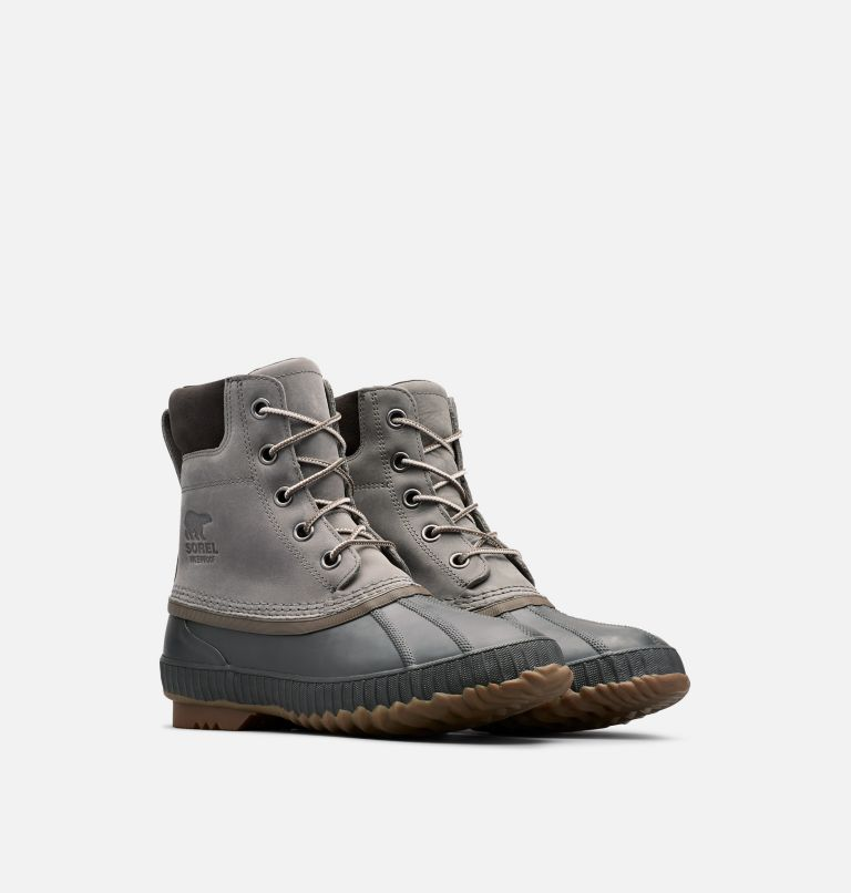 CHEYANNE™ II   052   8 Mens Cheyanne II Lace Duck Boot, Quarry, Buffalo, 3/4 front