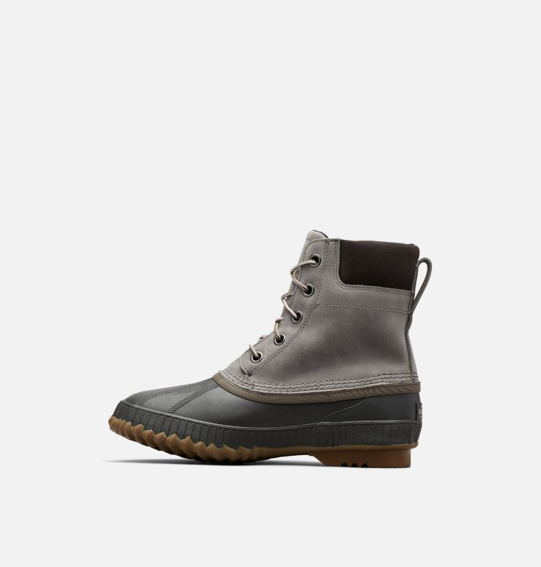 CHEYANNE™ II   052   10.5 Mens Cheyanne II Lace Duck Boot, Quarry, Buffalo, medial
