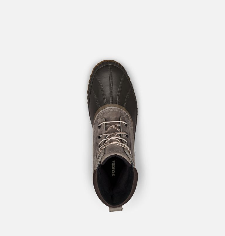 CHEYANNE™ II   052   8 Mens Cheyanne II Lace Duck Boot, Quarry, Buffalo, top
