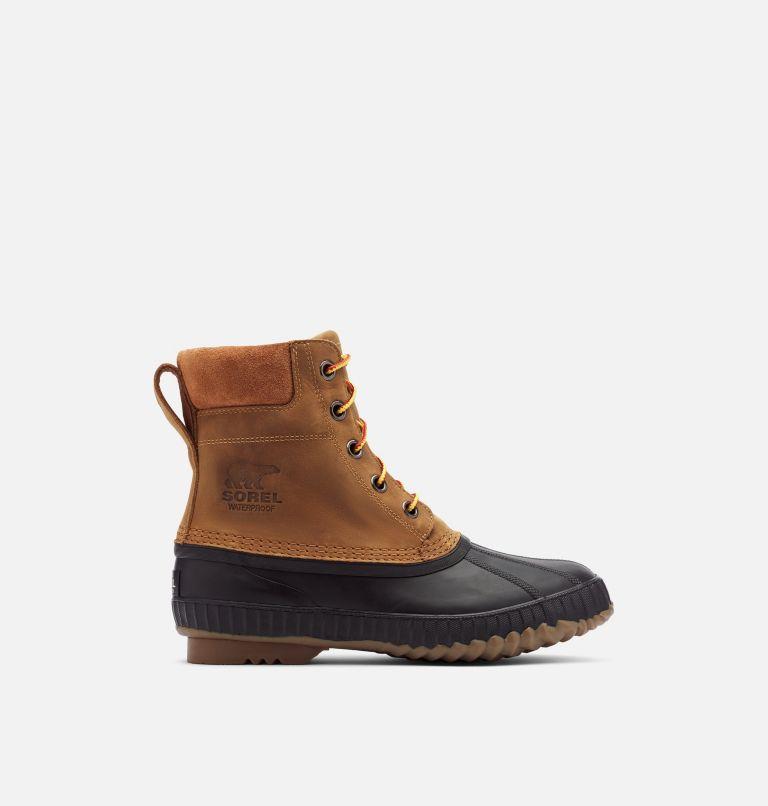 CHEYANNE™ II | 224 | 11.5 Mens Cheyanne II Lace Duck Boot, Chipmunk, Black, front
