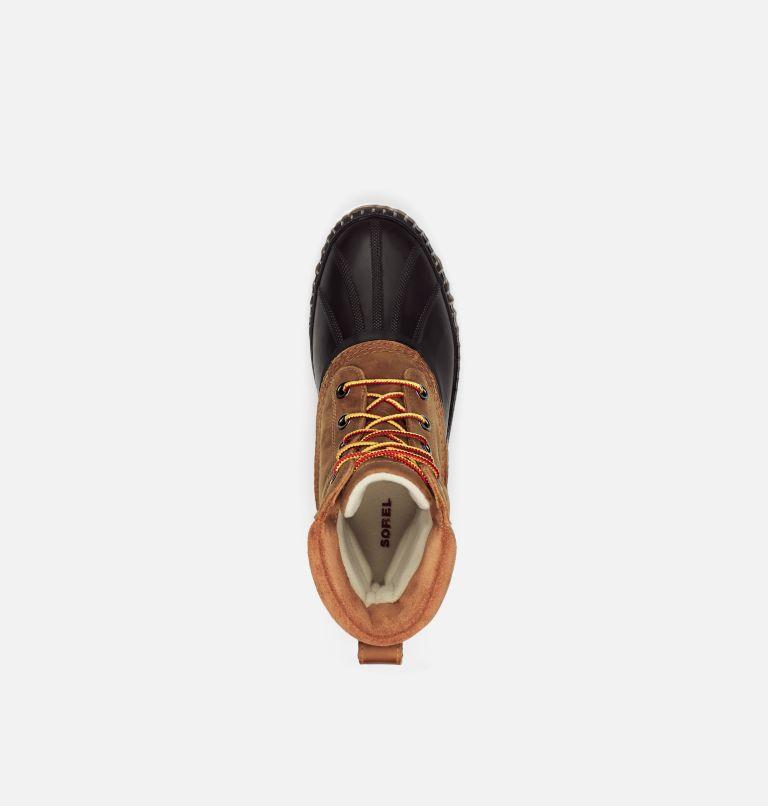 CHEYANNE™ II | 224 | 11.5 Mens Cheyanne II Lace Duck Boot, Chipmunk, Black, top