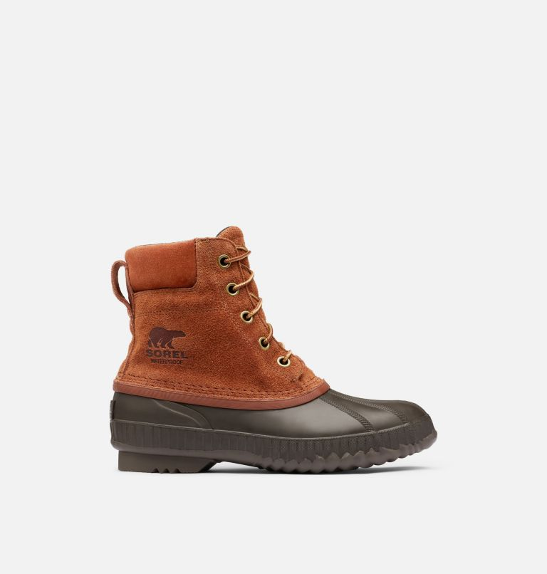 CHEYANNE™ II WP | 242 | 15 Mens Cheyanne II Lace Duck Boot, Dark Amber, Cordovan, front