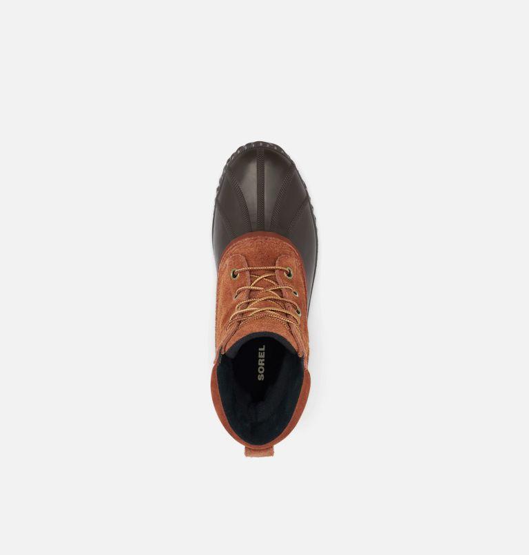 CHEYANNE™ II WP | 242 | 15 Mens Cheyanne II Lace Duck Boot, Dark Amber, Cordovan, top