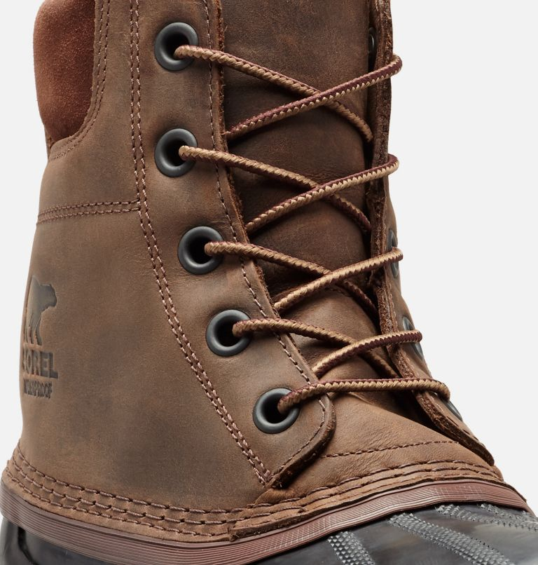 CHEYANNE™ II | 259 | 15 Mens Cheyanne II Lace Duck Boot, Tobacco, Black, a1