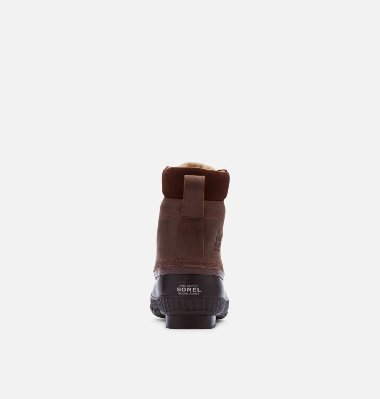CHEYANNE™ II | 259 | 7.5 Mens Cheyanne II Lace Duck Boot, Tobacco, Black, back