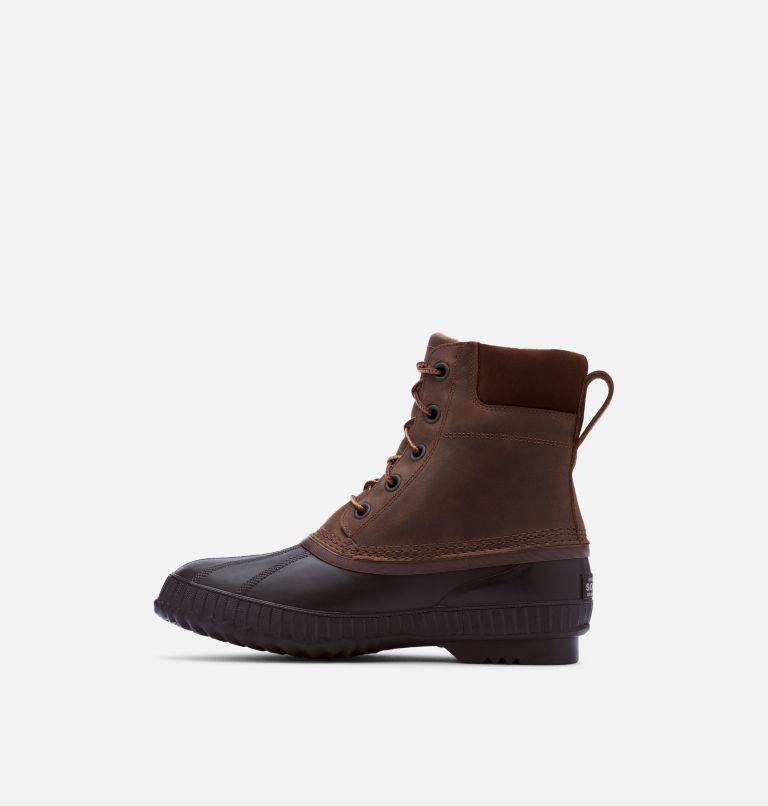 CHEYANNE™ II | 259 | 12 Mens Cheyanne II Lace Duck Boot, Tobacco, Black, medial