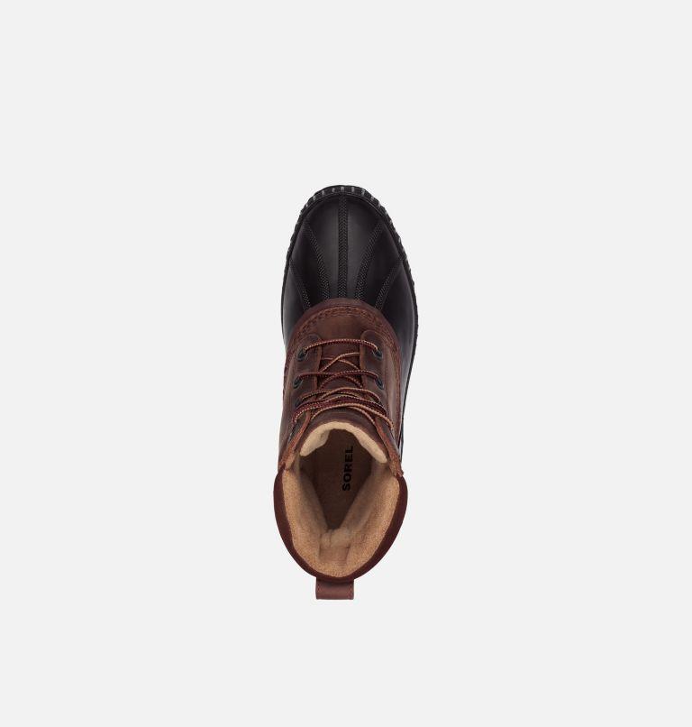 CHEYANNE™ II | 259 | 7.5 Mens Cheyanne II Lace Duck Boot, Tobacco, Black, top