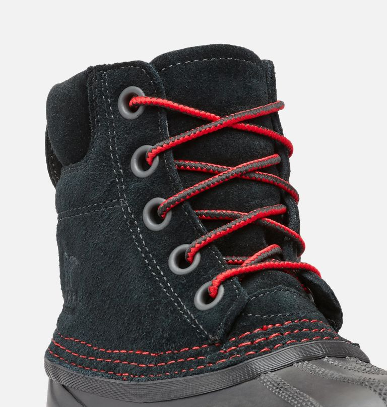 YOUTH CHEYANNE™ II LACE | 011 | 5 Boys Cheyanne II Duck Boot, Black, Mountain Red, a1