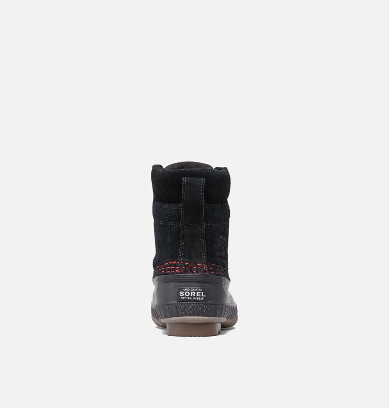 YOUTH CHEYANNE™ II LACE | 011 | 5 Boys Cheyanne II Duck Boot, Black, Mountain Red, back