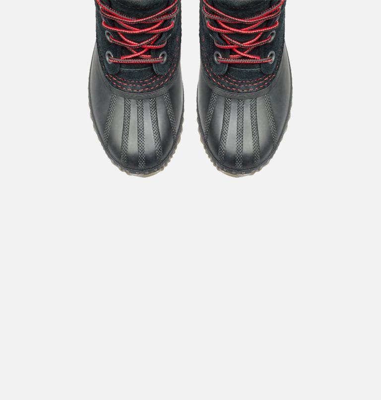 YOUTH CHEYANNE™ II LACE | 011 | 5 Boys Cheyanne II Duck Boot, Black, Mountain Red, top