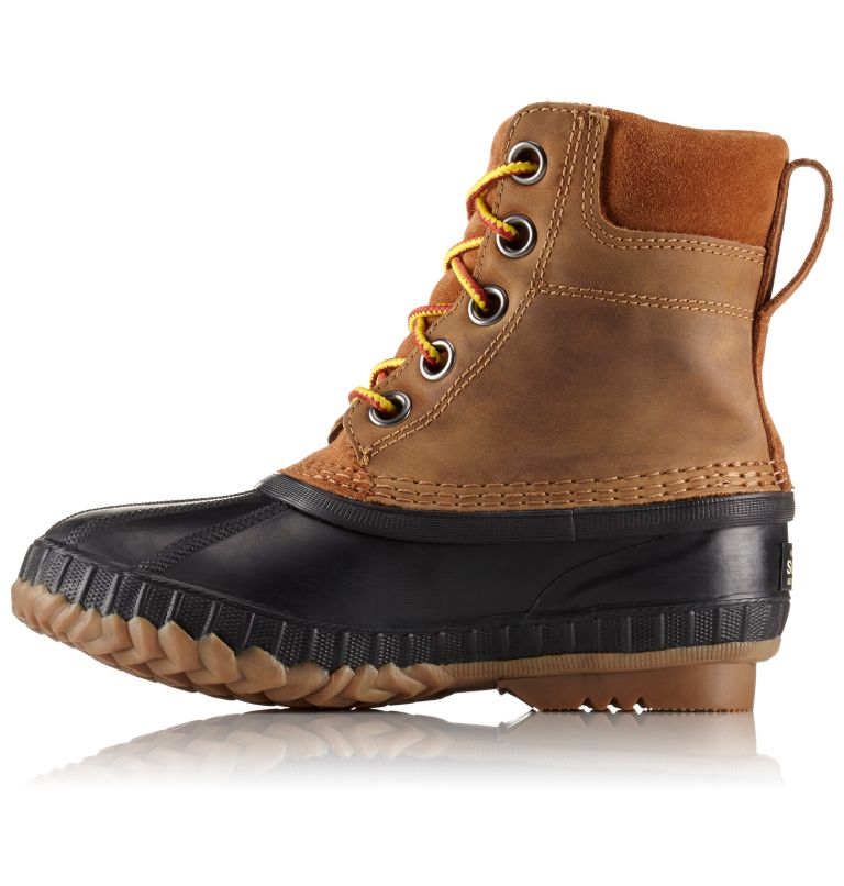 YOUTH CHEYANNE™ II LACE | 286 | 6 Boy's Cheyanne™ II Lace Boot, Elk, Black, medial
