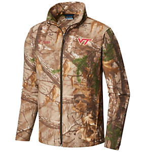 Collegiate Flanker™ Camo Fleece Jacket - Virginia Tech