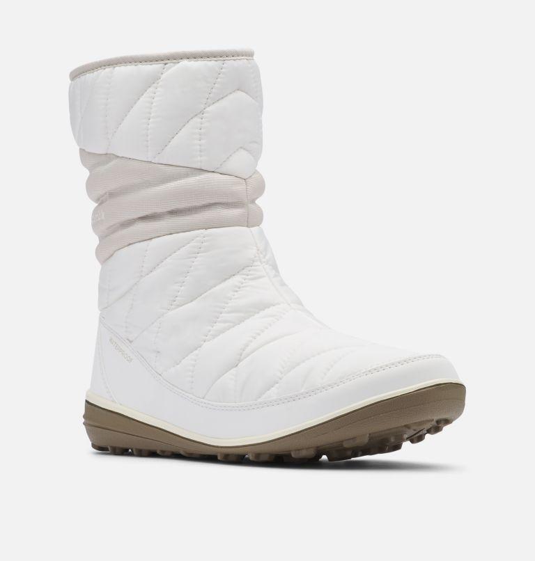 HEAVENLY™ SLIP II OMNI-HEAT™ | 125 | 8 Women's Heavenly™ Slip II Omni-Heat™ Boot, Sea Salt, Fawn, 3/4 front