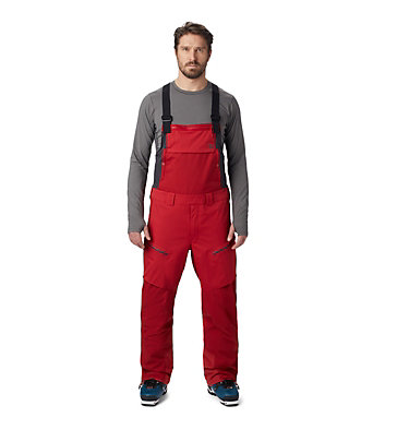 Men's FireFall™ Bib FireFall™ Bib | 090 | L, Dark Brick, front