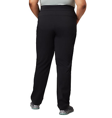 Women's Anytime Casual™ Pull On Pants - Plus Size Anytime Casual™ Pull On Pant | 472 | 1X, Black, back