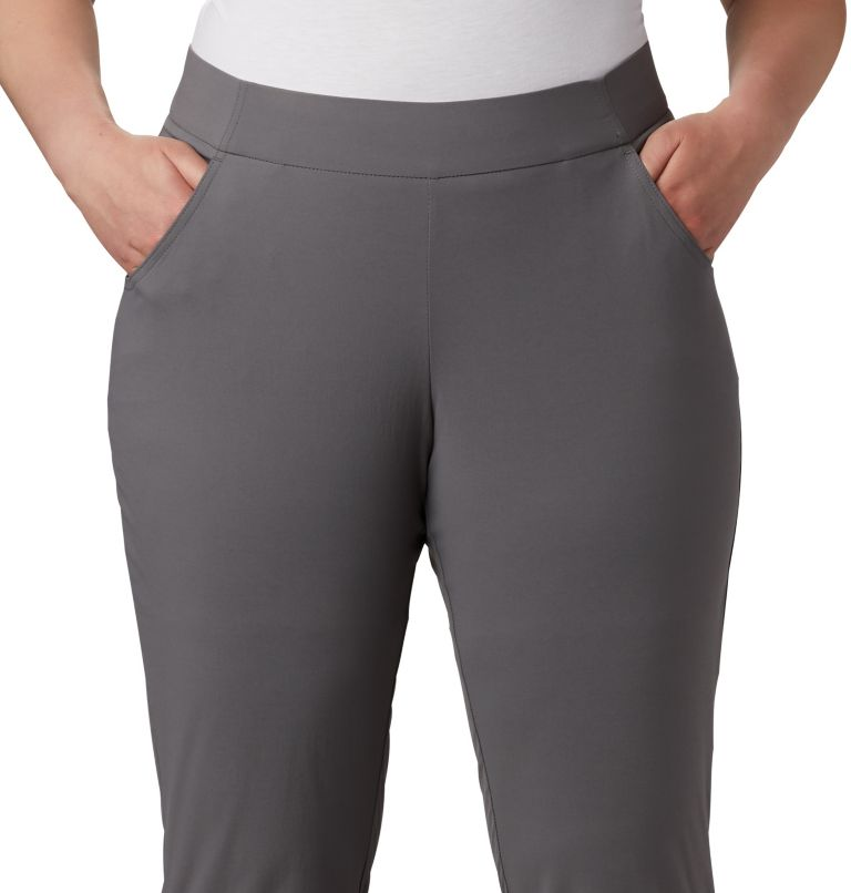 Anytime Casual™ Pull On Pant | 023 | 3X Women's Anytime Casual™ Pull On Pants - Plus Size, City Grey, a1