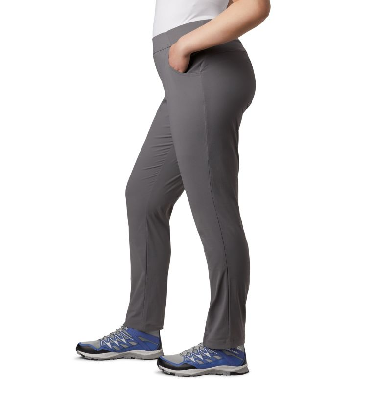 Anytime Casual™ Pull On Pant | 023 | 1X Women's Anytime Casual™ Pull On Pants - Plus Size, City Grey, a2