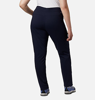 Women's Anytime Casual™ Pull On Pants - Plus Size Anytime Casual™ Pull On Pant | 472 | 1X, Dark Nocturnal, back