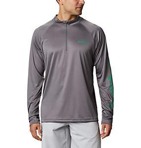 Men's PFG Terminal Tackle™ 1/4 Zip Pullover
