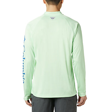 Men's PFG Terminal Tackle™ 1/4 Zip Pullover Terminal Tackle™ 1/4 Zip | 372 | L, Key West, back