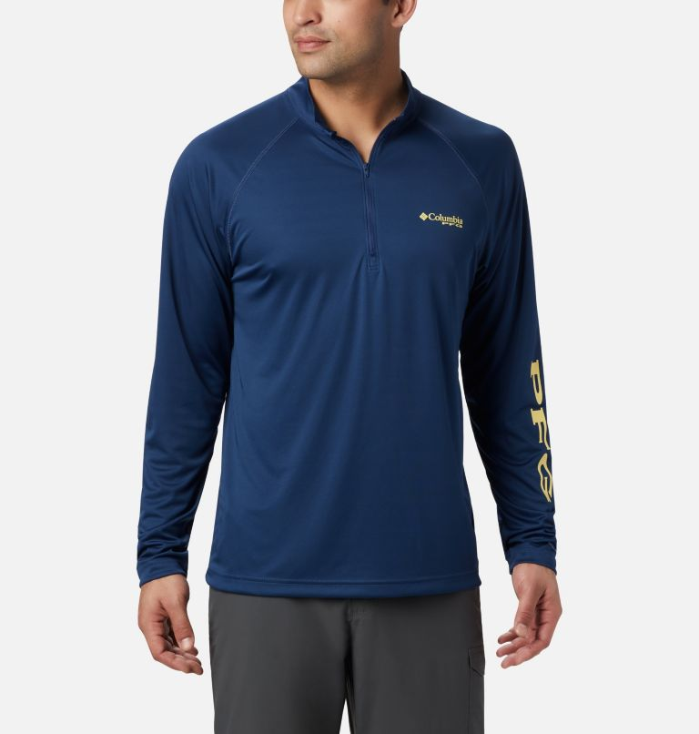 Men's PFG Terminal Tackle™ 1/4 Zip Pullover Men's PFG Terminal Tackle™ 1/4 Zip Pullover, front