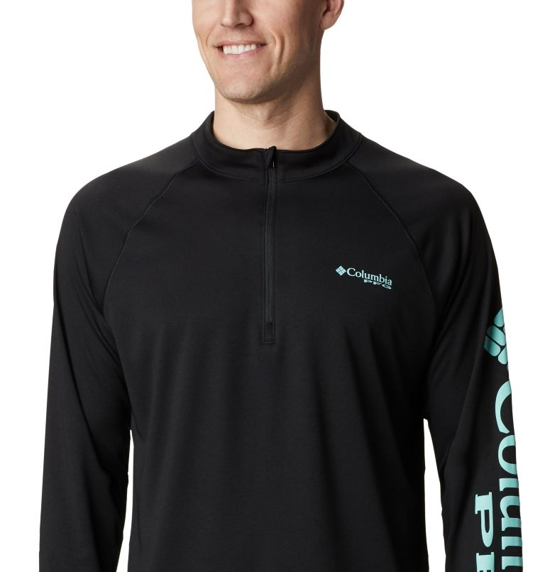 Men's PFG Terminal Tackle™ 1/4 Zip Pullover - Big Men's PFG Terminal Tackle™ 1/4 Zip Pullover - Big, a2