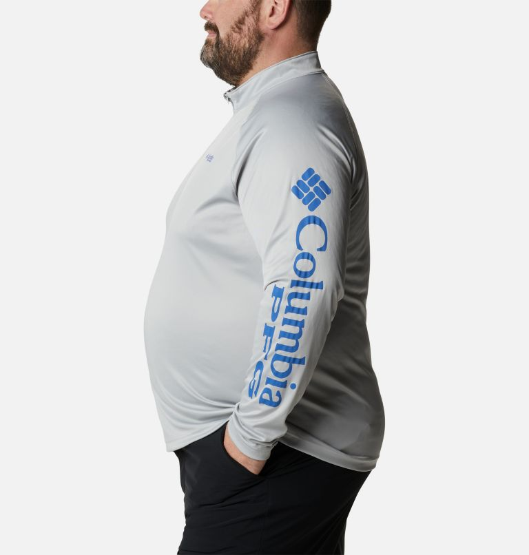 Men's PFG Terminal Tackle™ 1/4 Zip Pullover - Big Men's PFG Terminal Tackle™ 1/4 Zip Pullover - Big, a1