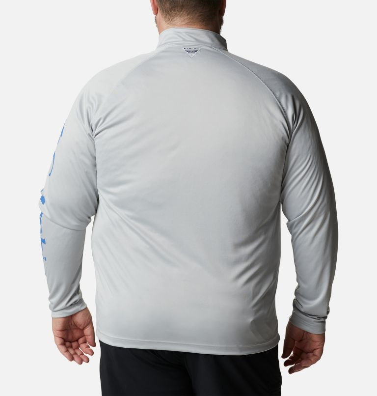 Men's PFG Terminal Tackle™ 1/4 Zip Pullover - Big Men's PFG Terminal Tackle™ 1/4 Zip Pullover - Big, back