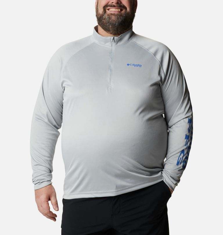 Men's PFG Terminal Tackle™ 1/4 Zip Pullover - Big Men's PFG Terminal Tackle™ 1/4 Zip Pullover - Big, front