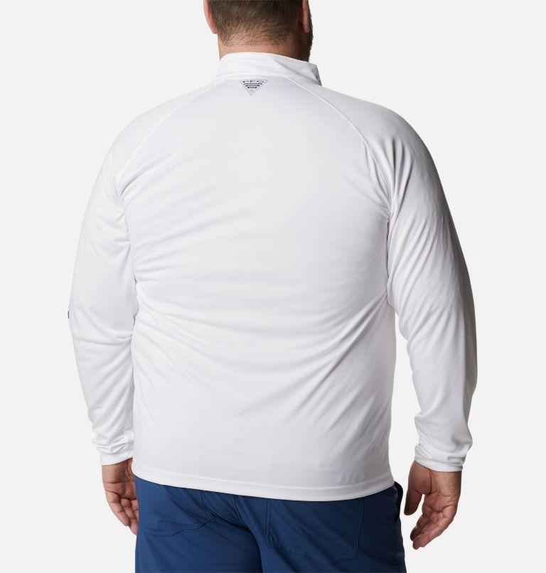 Men's PFG Terminal Tackle™ 1/4 Zip Pullover - Big Men's PFG Terminal Tackle™ 1/4 Zip Pullover - Big, back