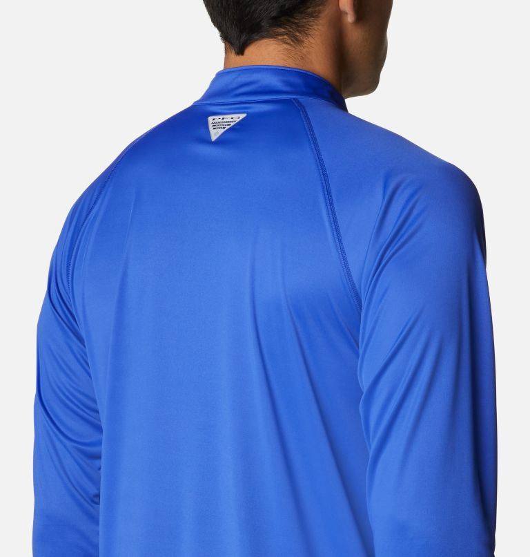 Men's PFG Terminal Tackle™ 1/4 Zip Pullover - Big Men's PFG Terminal Tackle™ 1/4 Zip Pullover - Big, a3