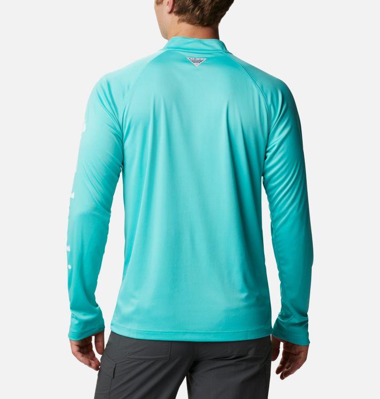 Men's PFG Terminal Tackle™ 1/4 Zip Pullover - Tall Men's PFG Terminal Tackle™ 1/4 Zip Pullover - Tall, back