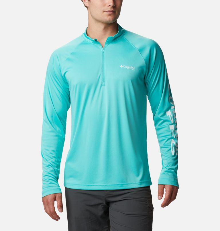Men's PFG Terminal Tackle™ 1/4 Zip Pullover - Tall Men's PFG Terminal Tackle™ 1/4 Zip Pullover - Tall, front