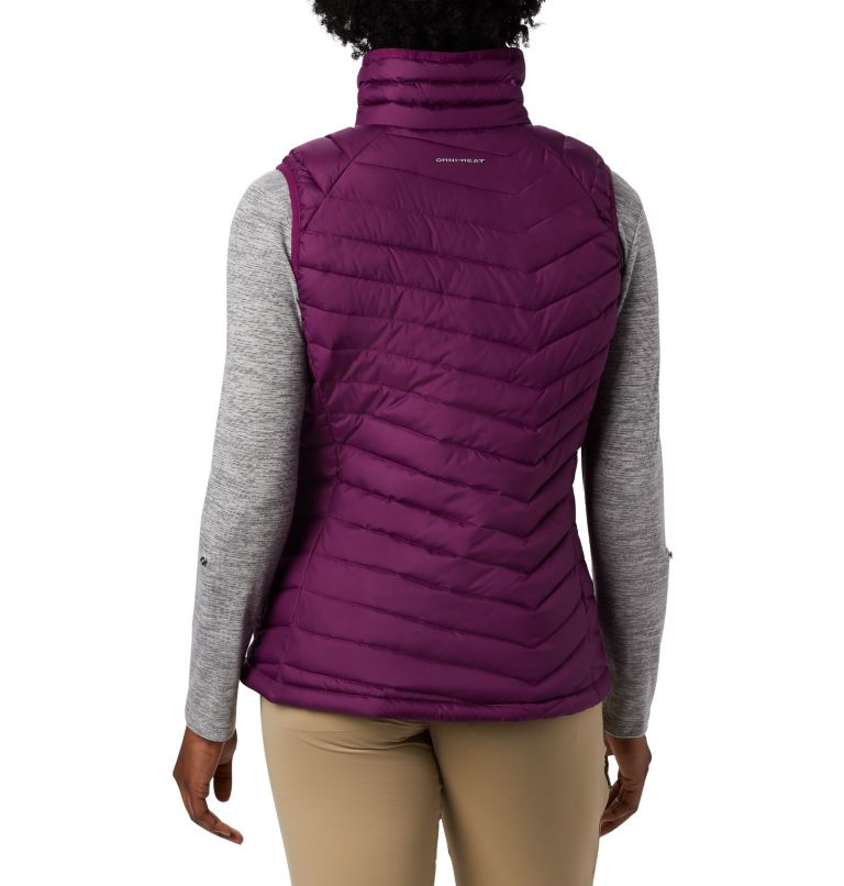 Powder Lite™ Vest | 594 | XL Women's Powder Lite™ Vest, Wild Iris, back