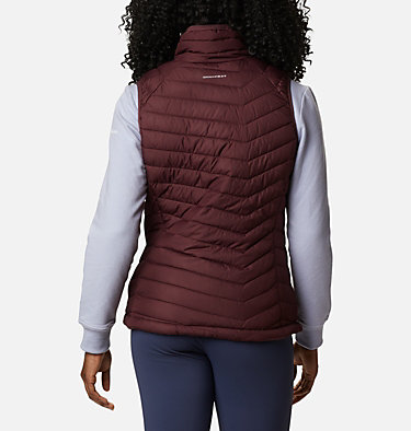 Women's Powder Lite™ Vest Powder Lite™ Vest | 671 | S, Malbec, back