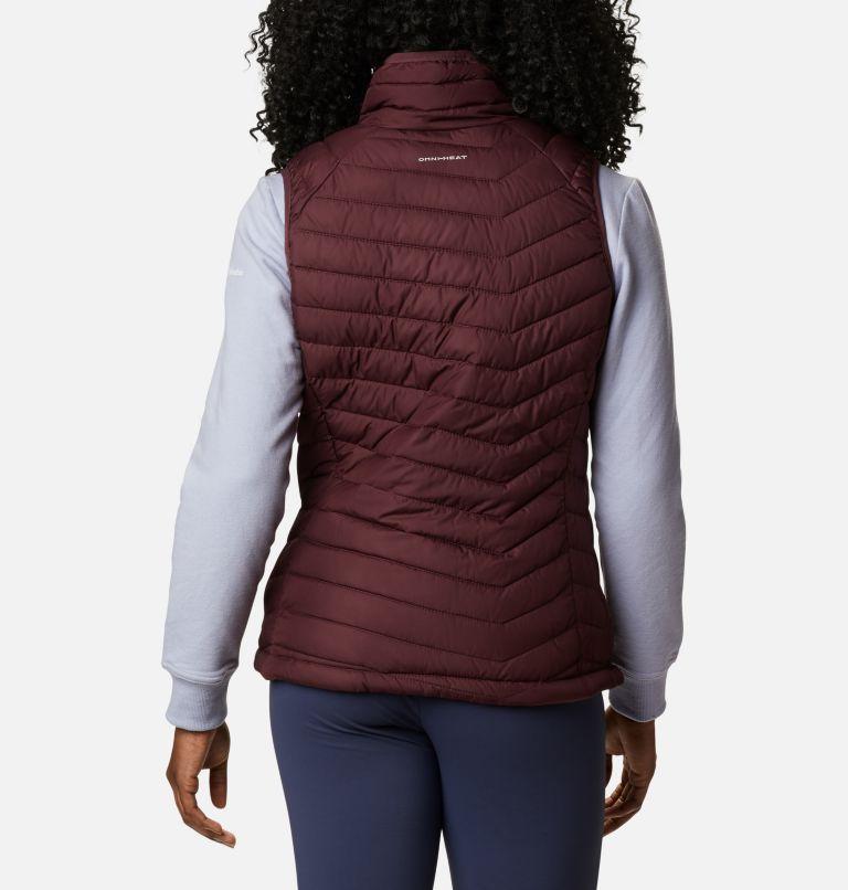 Powder Lite™ Vest | 671 | S Women's Powder Lite™ Vest, Malbec, back